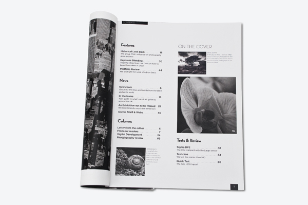 Magazine Table of Contents