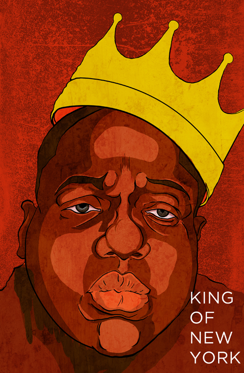 The Notorious Big. King Of New york